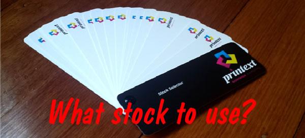 Printext | Free Paper Stock Selector